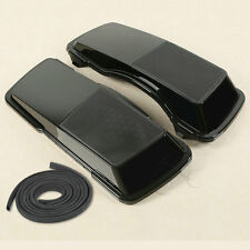 Black ABS Saddlebag Speaker Lids 6x9 Fit Harley Davidson Touring Models 93-13