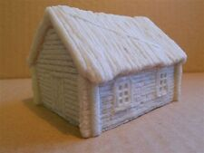 15MM PMC GAMES 1571 (PAINTED) RUSSIAN STYLE THATCH HOUSE TYPE 1 SOLID - MEDIEVAL