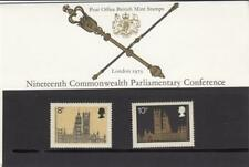 GB 1973 PARLIAMENT GERMAN ISSUE PRESENTATION PACK No.54 SG 939 940 MINT SET. #54