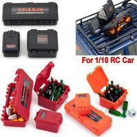 3PCS Mini Plastic Storage Box For RC Crawler Accessories TRX-4 Axial SCX10 D90