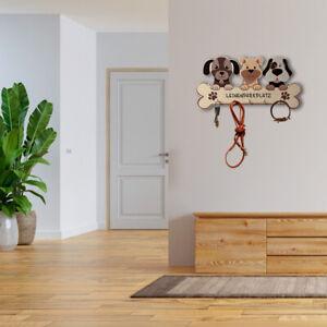 Hundegarderobe - Leinenplatz - Aufbewahrung für Leinen und Halsbänder