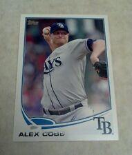 ALEX COBB 2013 TOPPS CARD # 53 A0805