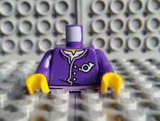 LEGO Postman Minifigure Torso Dark Purple Ninjago 70751