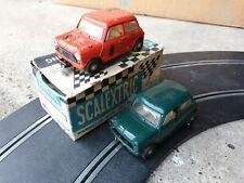 Scalextric triang C76 Cooper Slot Cars