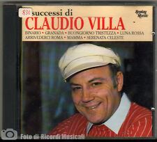 CLAUDIO VILLA - I SUCCESSI DI RMCD 4010