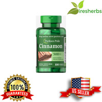CINNAMON 500mg SUPPORTS SUGAR METABOLISM WEIGHT LOSS DIETS PILLS 100 CAPSULES