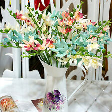 """20"""" Artificial Silk Orchid 6 Heads For Bridal Hydrangea Party Decor Home Wedding"""