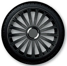 4 Copricerchi auto universali coppa ruota 15'' borchie GORECKI RADICAL PRO nera