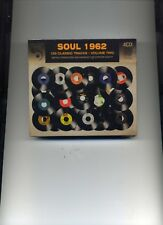 SOUL 1962 VOLUME TWO - OTIS REDDING MARY WELLS RUTH BROWN CRYSTALS - 4 CDS - NEW