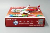 JC Wings 1:400 Sichuan Airlines Airbus A350-900 XWB 'Panda - Flaps Down' B-301D
