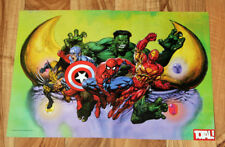 1997 Marvel Super Heroes In War of the Gems very rare small Poster 30x42cm SNES