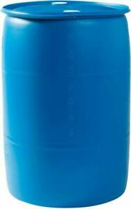 EMERGENCY 55 Gallons Rain Water Drum - Local Pickup Only - Food Grade Barrel