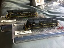 N Scale United States Army GP7 Dcc Equipped Lot USAX Emd Detailed Weathered