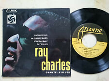 Ray Charles Chante Le Blues French 60s 4Track Atlentic EP