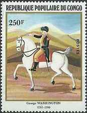 Timbre Chevaux Congo 668 ** lot 18011