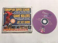 SEGA DREAMCAST dreamon Demo Vol. 19 Giant Killers UE Super Liga Jet Set Radio