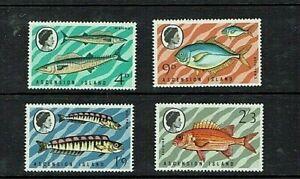 Ascension: 1970, Fish (series 3), MNH set