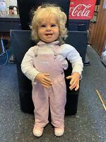 Pamela Erff Vinyl Künstlerpuppe Puppe 83 cm. Top Zustand