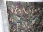 "US Military Woodland Camouflage Fabric 65"" x 1 yard"