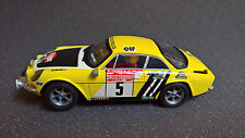 SCALEXTRIC Renault Alpine A110 - JL. Thérier / M. Vial - Rally San Remo 1975 SCX