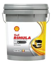 Shell Rimula R4 X 15w-40 (Formerly RT4 X) Heavy Duty Diesel Engine Oil 20 Litre