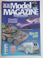 TAMIYA Model MAGAZINE n° 156  /Porsche Panamera / Type 16 MCV / Beetle Surf VAN