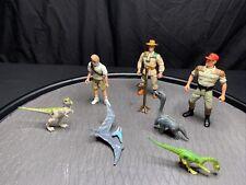 Jurassic Park Action Figure Jaws Jackson 1993 Kenner Lot