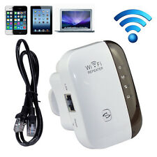 Wifi Repeater Wireless-N AP Range Signal Extender Booster US Plug For Cellphone