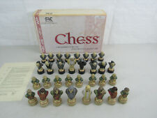 Studio Anne Carlton Lord of the Rings Handcrafted Chess Piece Set A190S