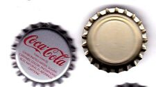 1 PIECE COCA COLA BOTTLE CAP SILVER USED NEVER CRIMPED.(Pepsi Cola) 7UP Crafts.