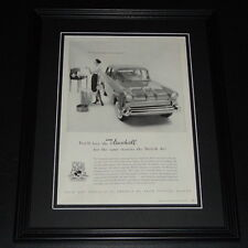 """1953 VAUXHALL VAGABOND CONVERTIBLE AD A4 POSTER GLOSS PRINT LAMINATED 11.7""""x8.3"""""""
