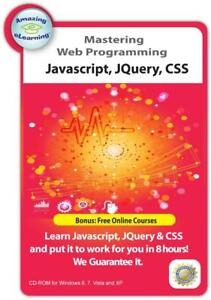 Learn JavaScript, JQuery and CSS Web Programming and Style CD Training Course