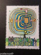AUTRICHE 1975 timbre 1334 Tableau Friedensreich, neuf**