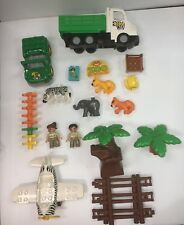 LEGO USED Mixed Duplo Lot (bricks, figures, animals, zoo, vehicles) D103