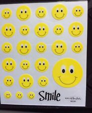 Smile Smiley Face Stickers