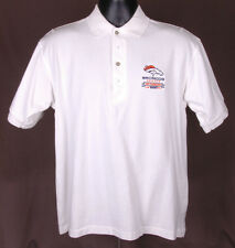 Denver Broncos 1997 Champions-Polo Shirt-S-White-Cotton-Antigua