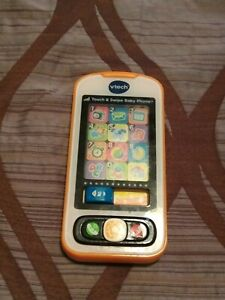 VTech Touch and Swipe Baby Phone BOYS FREE SHIPPING