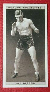British Fly-weight Boxer  Alf Barber  Original 1920's Vintage Photo Card