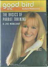 Basics of Parrot Training by Barbara Heidenreich - 3 DVD Set - Good Bird Inc