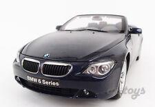 Kyosho BMW 645Ci Convertible 1:18 Diecast car Model Navy Blue 08702NB