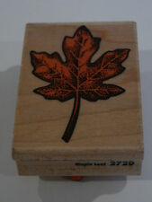 RUBBER Stampede STAMP ~ MAPLE LEAF 272D ~ Berkeley, California