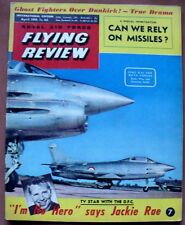 ROYAL AIR FORCE FLYING REVIEW INTERNATIONAL EDITION APRIL 1959 JACKIE RAE