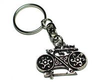 Pictish Celtic Double Disc and Z Rod Pewter Keyring