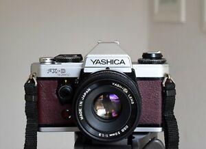 Yashica FX-D slr with 2 lenses