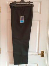 """Banner Putney Pleated School Trousers Grey Age 8-9 26/"""" W 27/"""" L BNWT"""