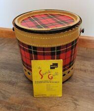 New Listingvintage Hamilton Plaid Skotch Grill Air Cooled Charcoal Grill Original Booklet