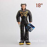 Cartoon X-men Wolverine Plush Toy Soft Stuffed Doll Figure 18'' Kids Xmas Gift
