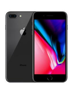 Apple iPhone 8 Plus   Grade B+   Straight Talk   Space Gray   128 GB   5.5 in