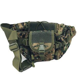 Protector Plus Tactical Waist Pack Bag Military Fanny Packs Waterproof Hip Belt
