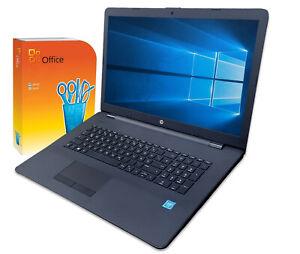 """HP Notebook Laptop 17"""" HD+ Intel N4020 8GB 1TB  DVD-RW  Win10 mit Office"""